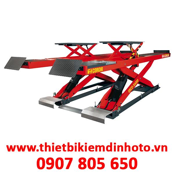 cầu nâng cắt kéo chuyên chỉnh lái