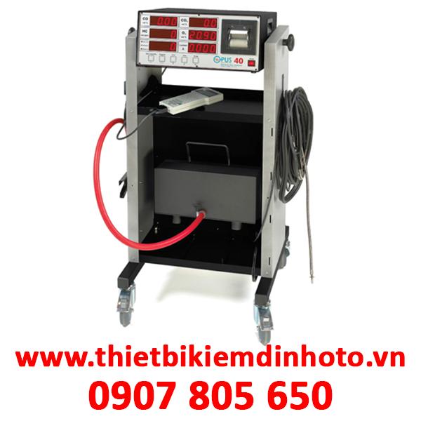 máy phân tích khí xả, máy kiểm tra khí xả, máy đo nồng độ khí xả, opus