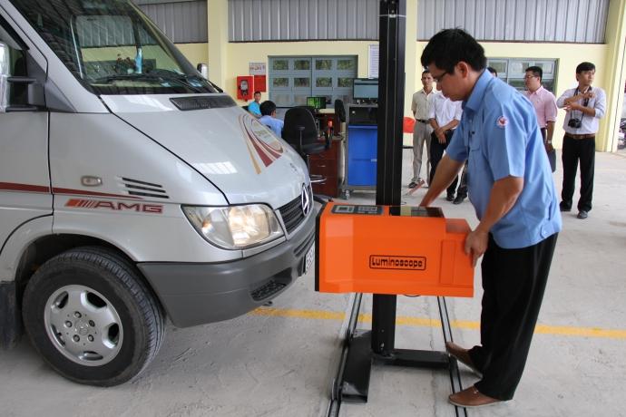 Trung tâm đăng kiểm xe cơ giới 60-05D