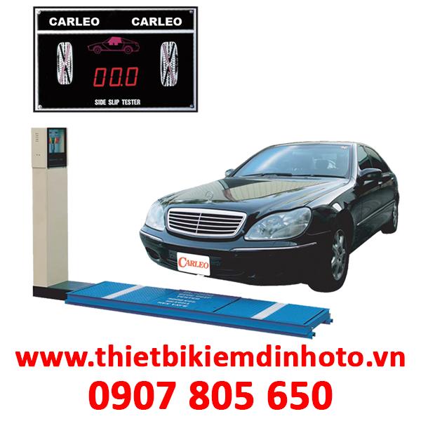 THIẾT BỊ KIỂM TRA TRƯỢT NGANG 15 TẤN/TRỤC CARLEO SL-500-15
