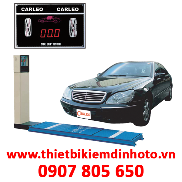 THIẾT BỊ KIỂM TRA TRƯỢT NGANG 10 TẤN/TRỤC CARLEO SL-500